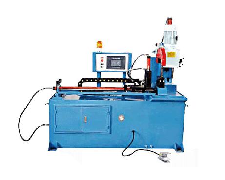 350液压自动送料切管机
